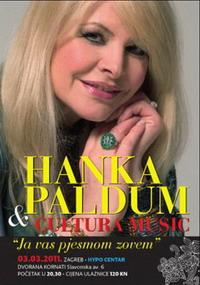 "POZIV NA KONCERT SEVDALINKE HANKE PALDUM U ZAGREBU ""JA VAS PJESMOM ZOVEM"", 03.03.2011. U HYPO CENTRU"