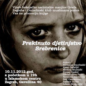 Prekinuto djetinstvo Srebrenice