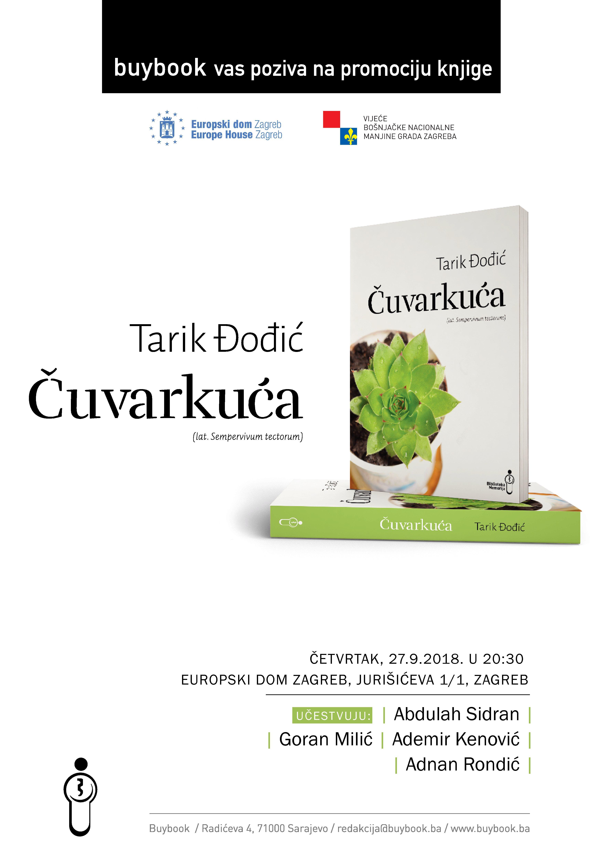 """Promocija knjige """"Čuvarkuća"""""""