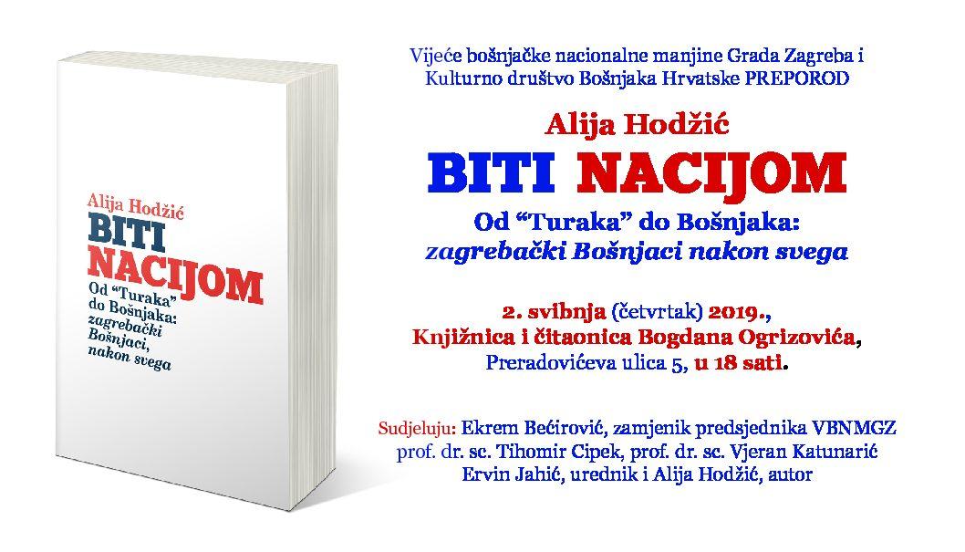 """Biti nacijom: od """"Turaka"""" do Bošnjaka: zagrebački Bošnjaci, nakon svega"""