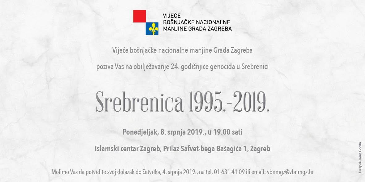 SREBRENICA 1995. -2019.
