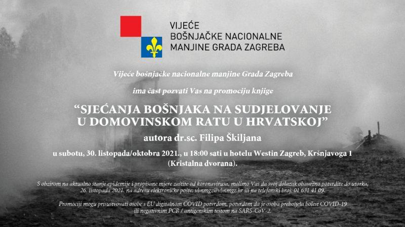Sjećanja Bošnjaka na sudjelovanje u Domovinskom ratu u Hrvatskoj